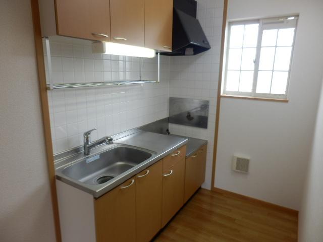 ヒルサイドテラス上中里 02020号室のキッチン