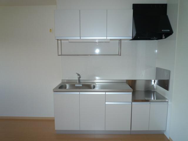 カーサヴィオラA 02010号室のキッチン