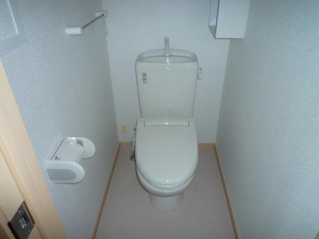カーサヴィオラA 02010号室のトイレ