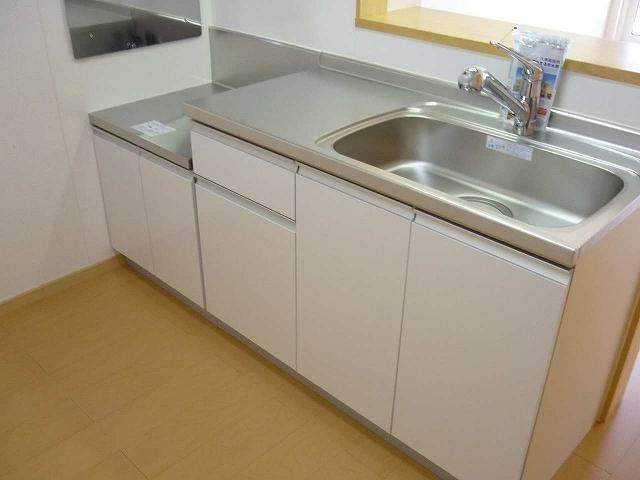 カーサ・プラシードA 201号室のキッチン