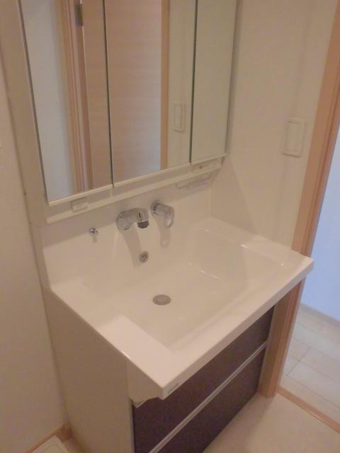 サンハイツ港 301号室の洗面所