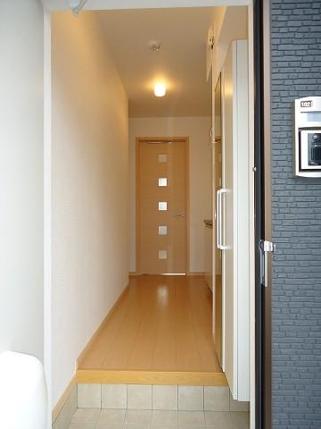 ヒルサイド向山 01020号室の玄関