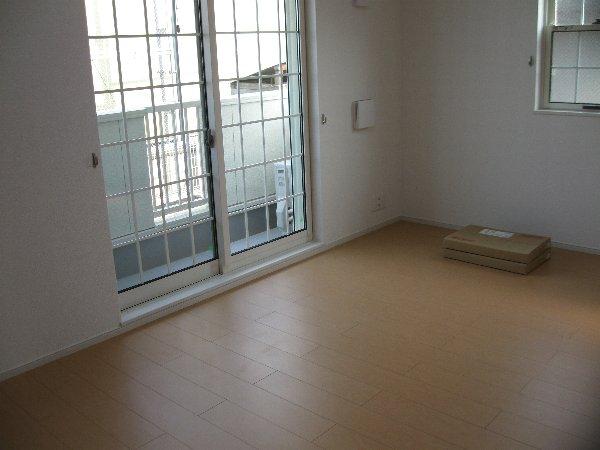デスパシオ聖蹟桜ヶ丘 104号室のバルコニー