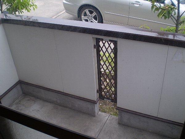 ラッフィナートA 01010号室のバルコニー