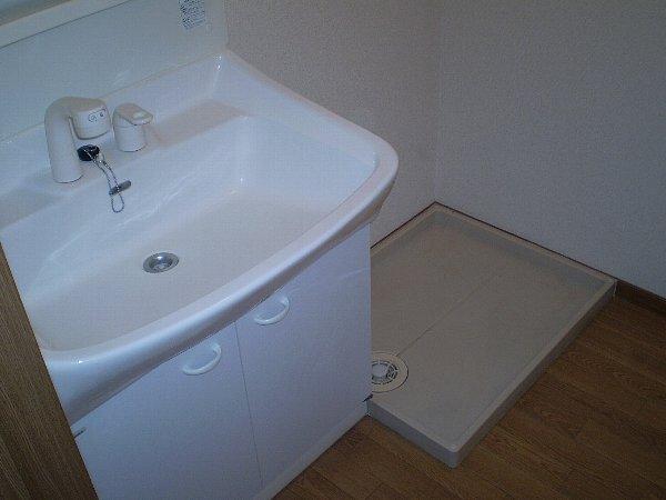 ラッフィナートA 01010号室の洗面所