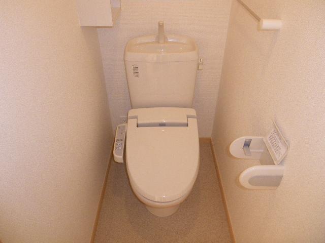 フォーカーレⅡ 01010号室のトイレ
