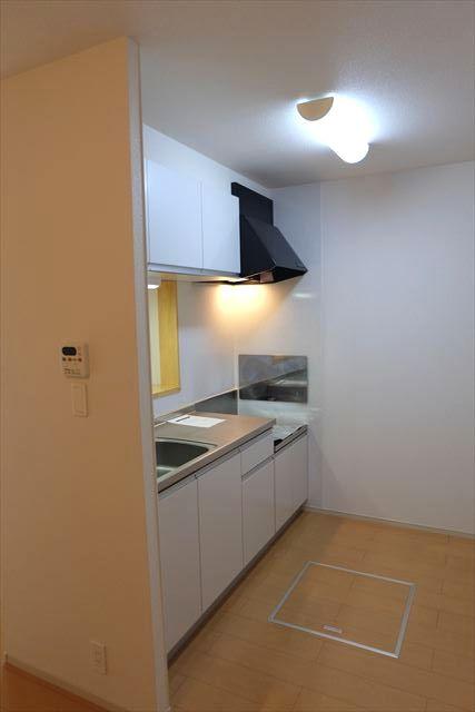マンダリン ダック A 01030号室のキッチン