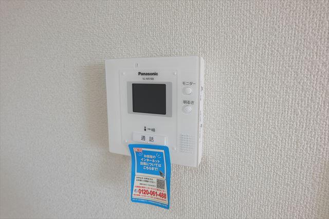 クローバーハイツ本城 02020号室のセキュリティ