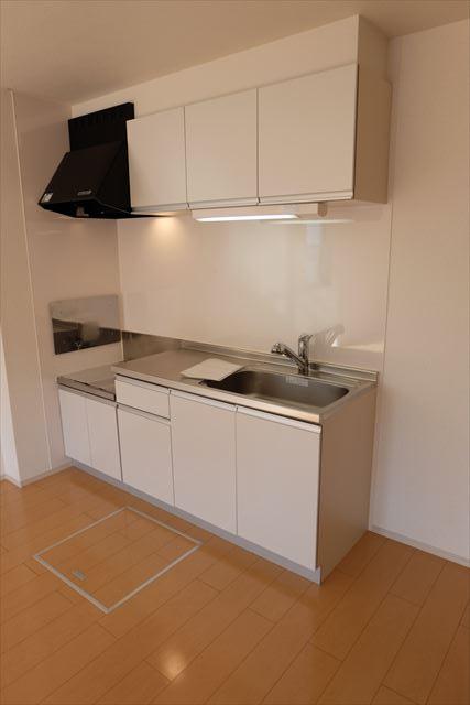 カーサ・ルピナスA 01020号室のキッチン