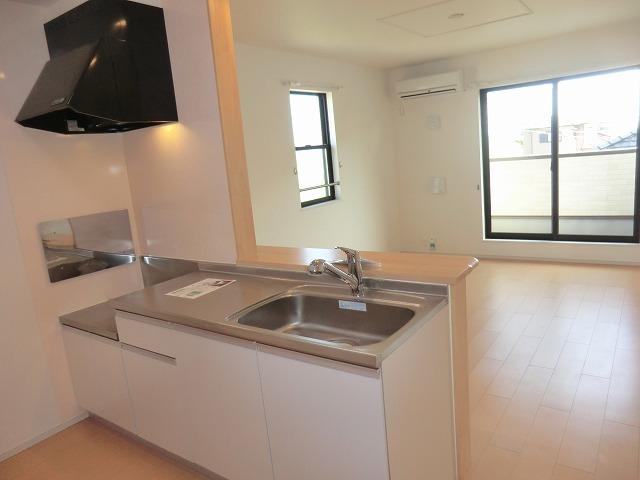 ディアコート徳永 202号室のキッチン