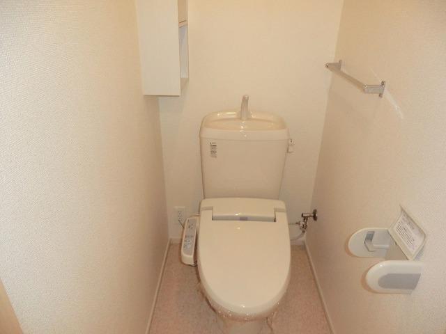 ディアコート徳永 202号室のトイレ
