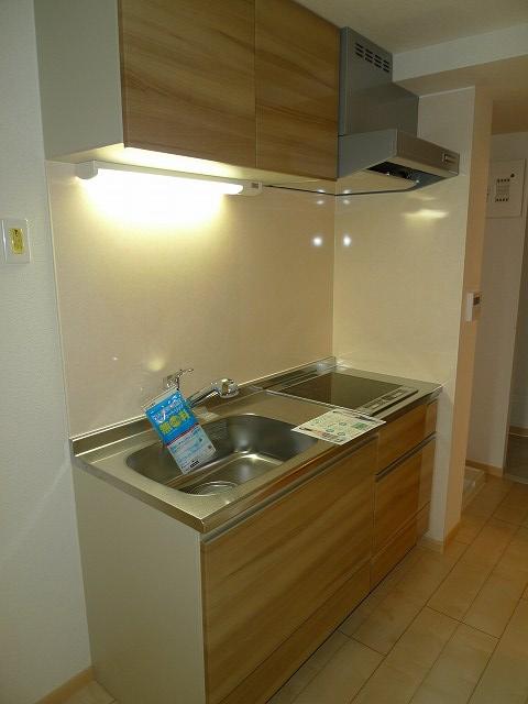 アウローラBB 302号室のキッチン