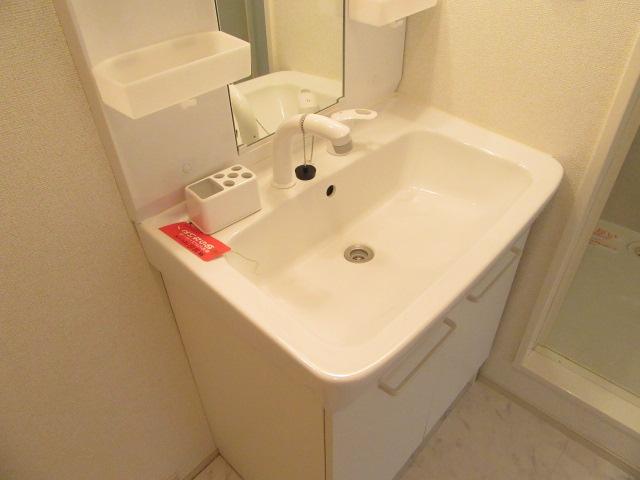 ニューグランシェルⅠ 01030号室の洗面所