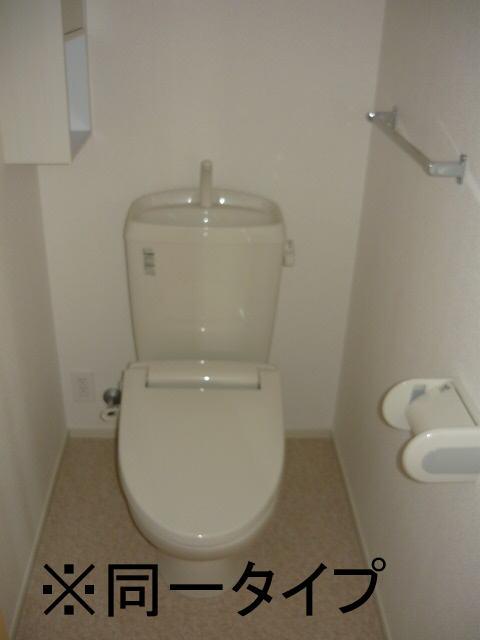 ヴィラ庄司田 301号室のトイレ