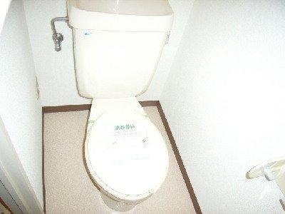 フォーシーズンⅠ 01020号室のトイレ