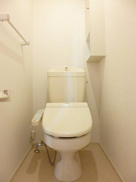 ムース ジョーハイツ 201号室のトイレ