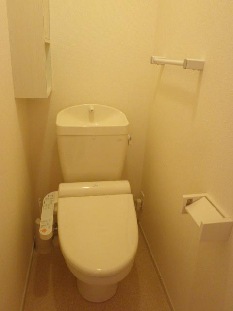 Alegria 02030号室のトイレ