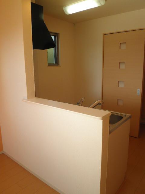 Alegria 02030号室のキッチン