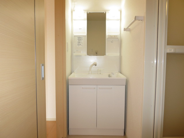 ネオ薬師寺B 01010号室の洗面所