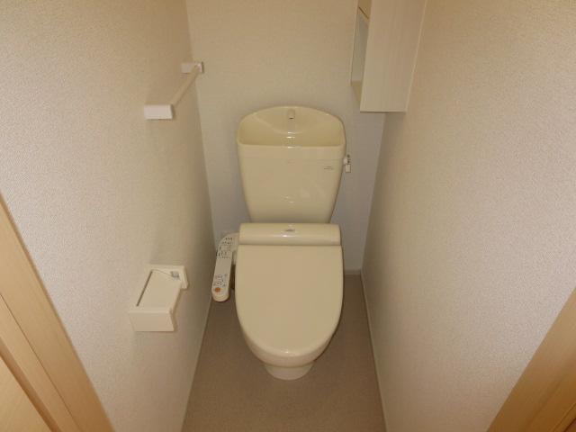 ネオ薬師寺B 01010号室のトイレ