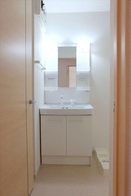 カーサ プラシード 02010号室の洗面所