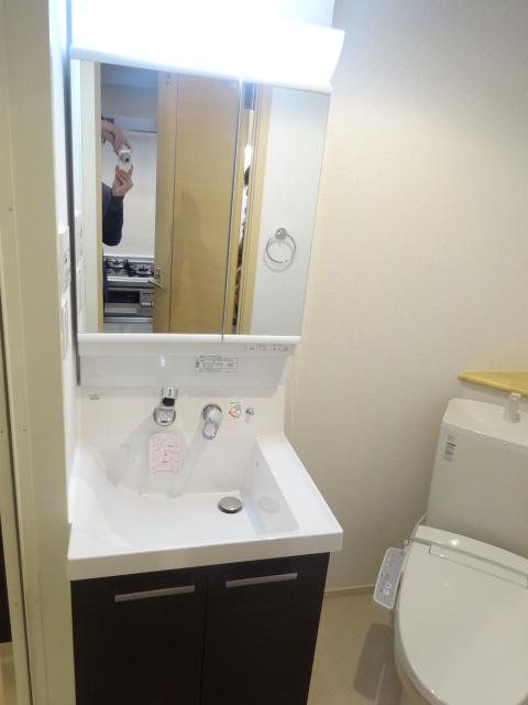 グラン アルカンシェル 304号室の洗面所