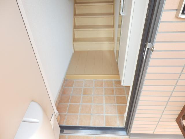 スイートタウンB 02020号室の玄関