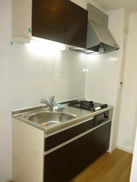 パークサイドM Ⅱ 201号室のキッチン