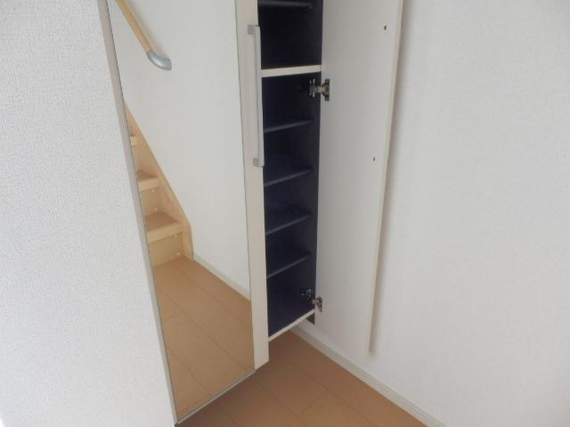 セレーノ 03040号室の収納