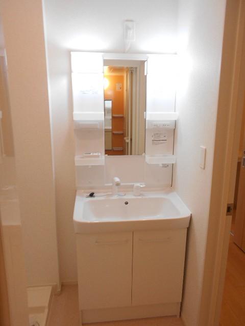 サン・ルーチェⅣ 02040号室の洗面所