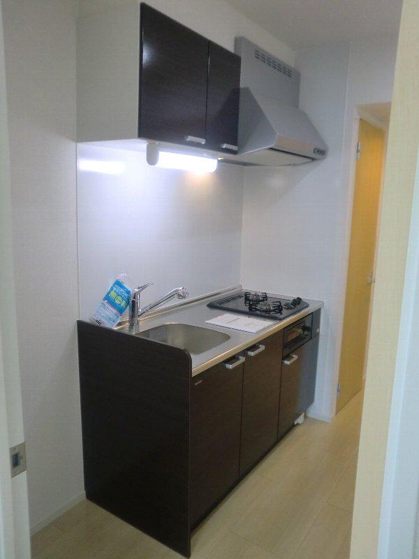 グランドコート おおひら 304号室のキッチン