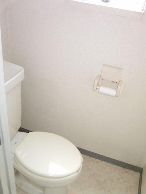 シャルム小向 203号室のトイレ