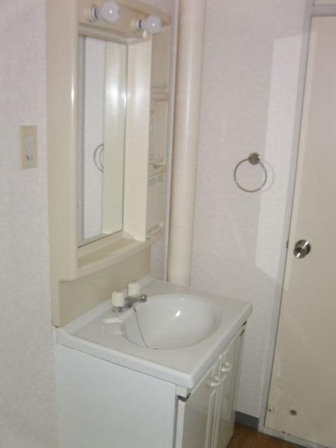 シャルム小向 203号室の洗面所