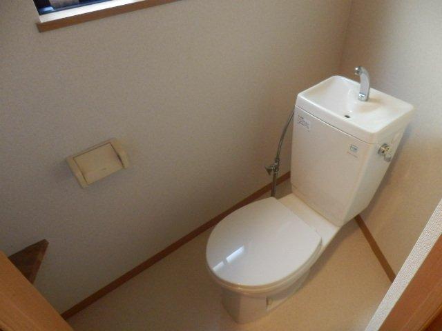 ビューヒル南 0102号室のトイレ