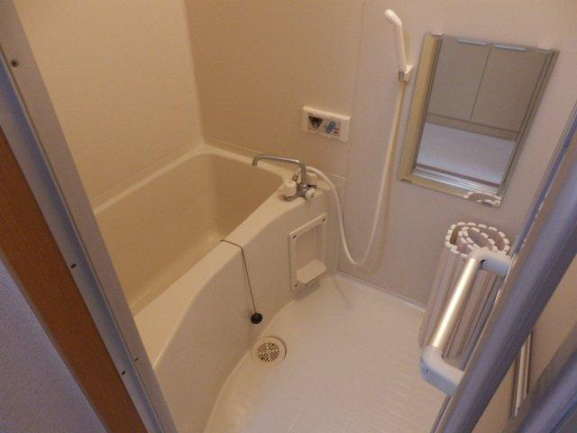 ビューヒル南 0102号室の風呂