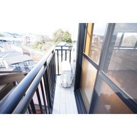 カインドハウス杉田 301号室のバルコニー