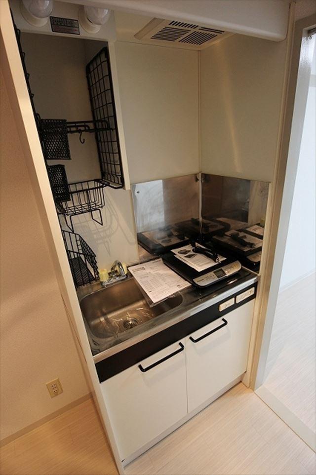 HOSOI-'93 201号室のキッチン