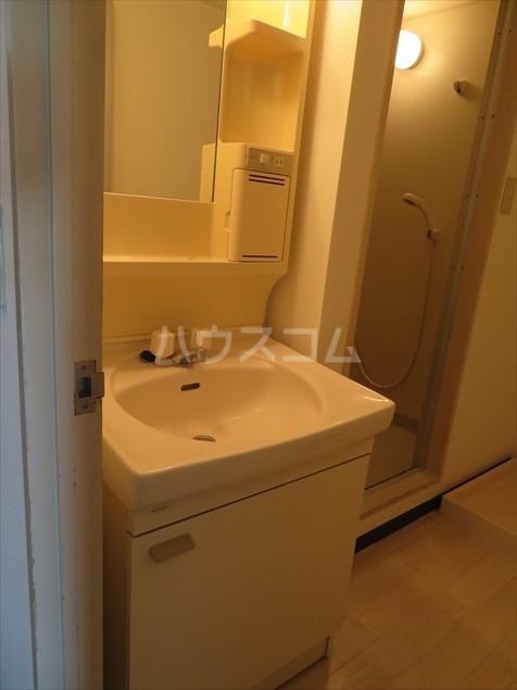 サクシ-ド 502号室の洗面所