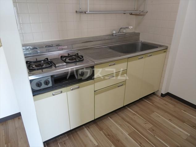 サクシ-ド 502号室のキッチン