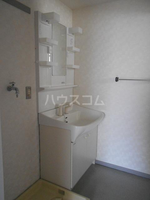 プライムポイント 201号室の洗面所