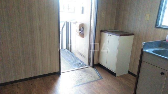 メゾン藤 201号室の玄関