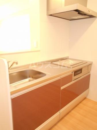 アヴェニール 202号室のキッチン