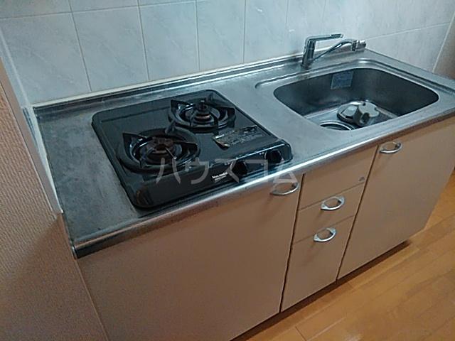 プルミエール・B 306号室のキッチン