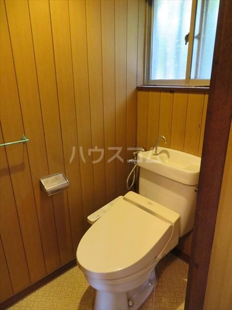 加藤様貸家のトイレ