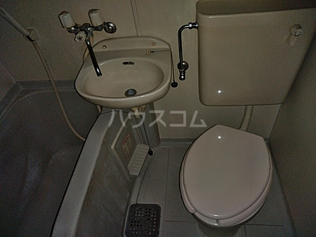 パールハイムⅡ 102号室のトイレ