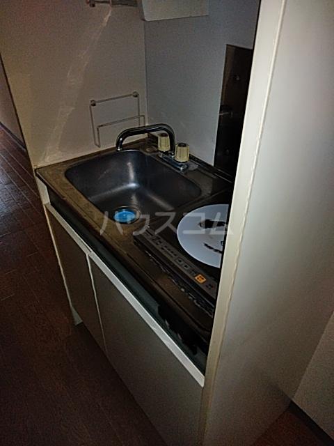 パールハイムⅡ 102号室のキッチン
