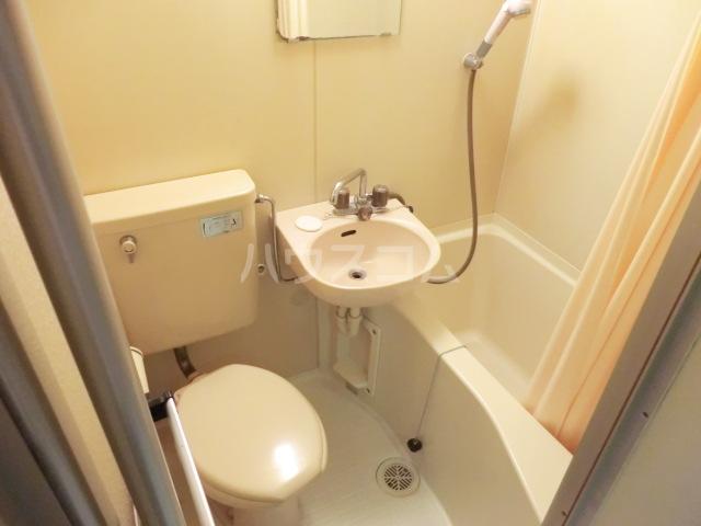 レオパレスシーガル 101号室のトイレ