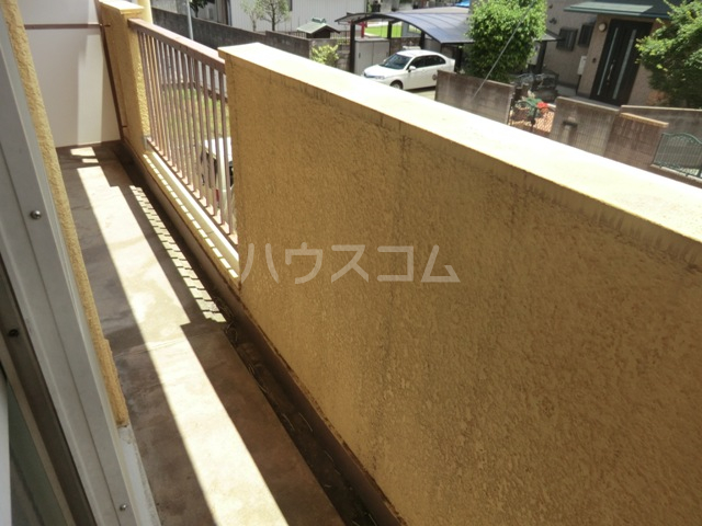 新田第5中島ハイツ 103号室のバルコニー