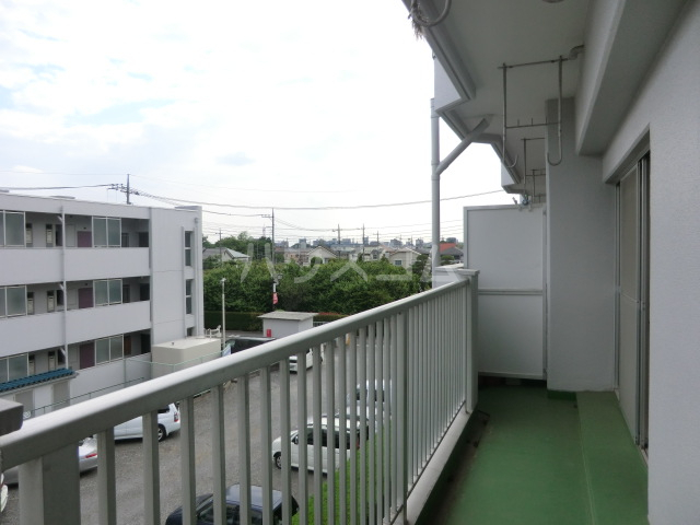 第2武笠ビル 203号室のバルコニー