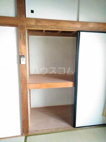 光荘 6号室の収納